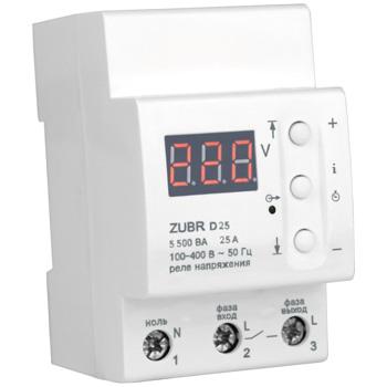захист від перенапруги zubr d25