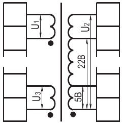 ОСМ1 - трехобмоточный