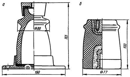 Опорные изоляторы типа ОФ-6 для внутренней установки
