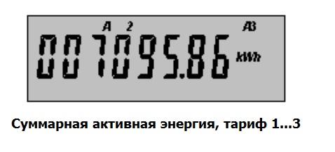 Сумм.акт.энергия 5 серия по тарифам