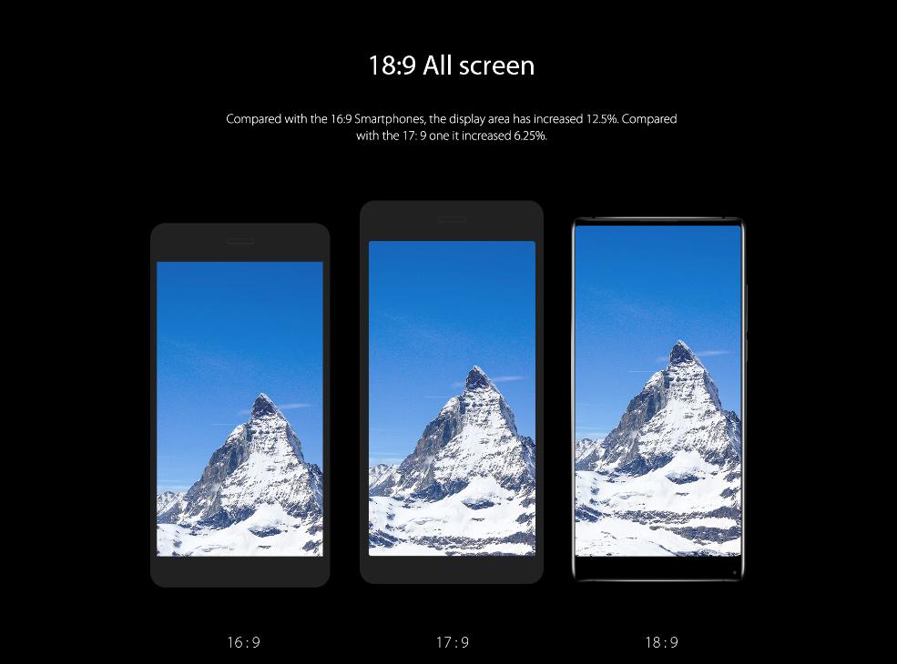5 причин купить безрамочный смартфон Vernee MIX 2-4