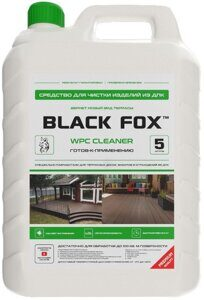 black fox cleaner 5 л
