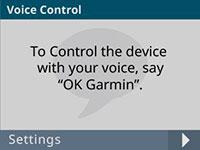 Відеореєстратор Dash Cam 66W. Голосове управління