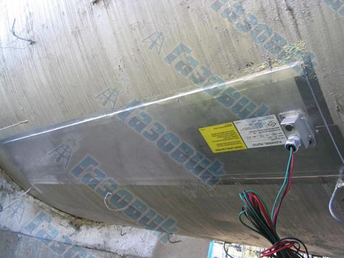 Пример использования нагревательных панелей