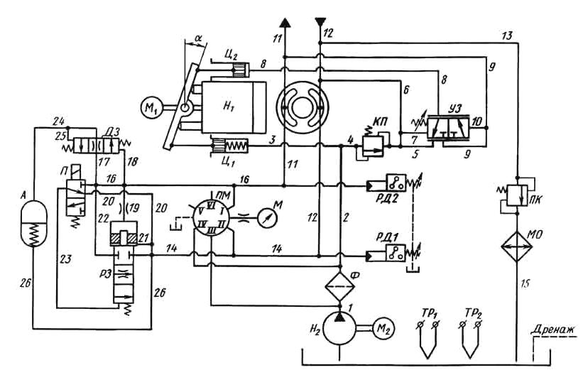 Установка насосная (гидростанция) Г 48 - рисунок 4