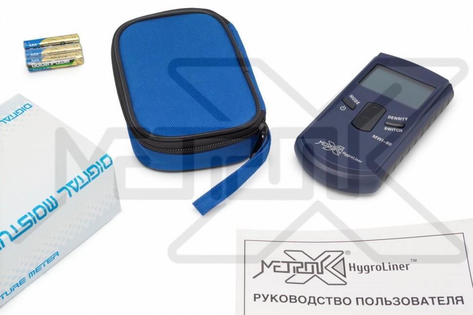 Индукционный влагомер древесины HygroLiner MWI-80 HygroLiner MWI-80, Индукционный влагомер древесины