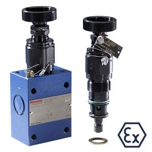 Гидроклапаны DBDH...XC...E Предохранительные клапаны прямого действия DBDH...XC...E