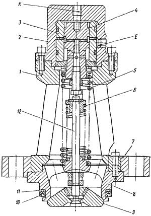 Устройство и принцип работы клапанов наполнения 13КН, 11КН
