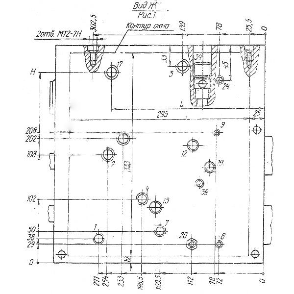 Рис. 2. Гидропанели подач УН7416-01, УН7417-01