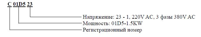 маркировка IDS Drive C+