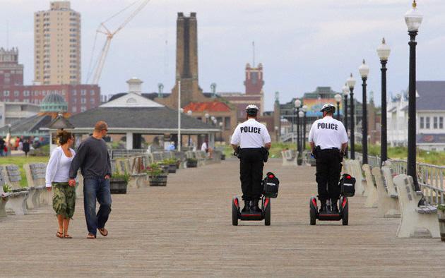 полиция на сигвее