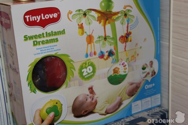 Мобиль Tiny love Остров сладких грез фото