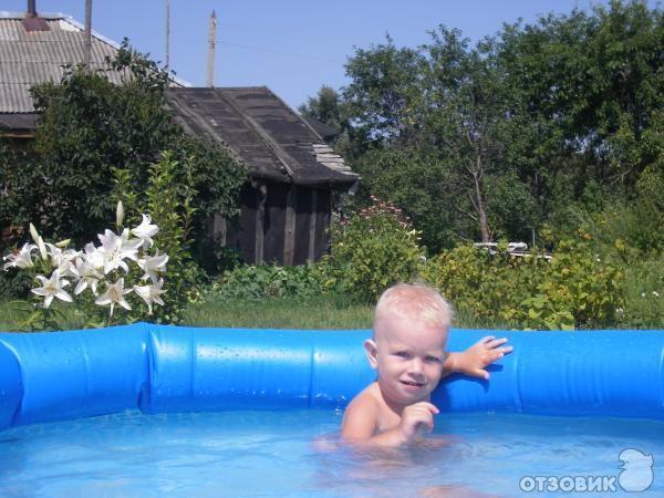 Надувной бассейн Easy set 224x76 фото
