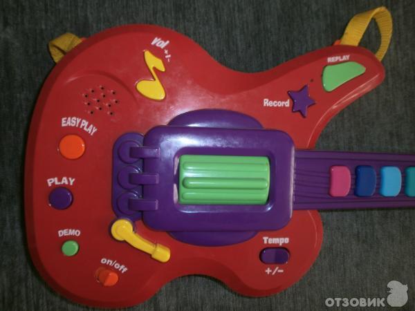 Гитара с кнопками (свет, звук) Keenway 31913 фото