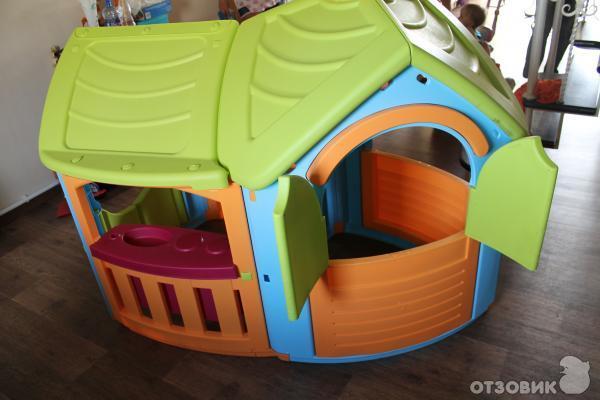 Игровой домик Marian Plast 662 Вилла с пристройкой фото