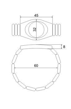 Размеры браслета