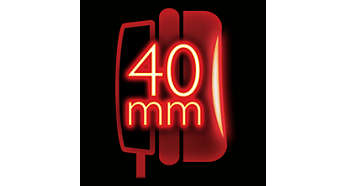 Мощные 40-мм излучатели для чистого звучания басов