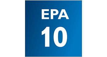Фильтр EPA улавливает микроскопических паразитов, вызывающих аллергию
