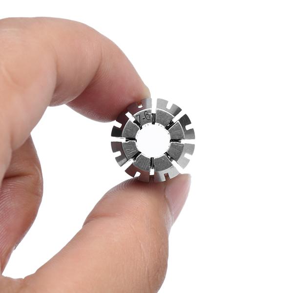 ER1610шт1-10ммПружиннаяцанговаямашина для резки с ЧПУ Фрезерный станок с цанговым кольцом Инструмент