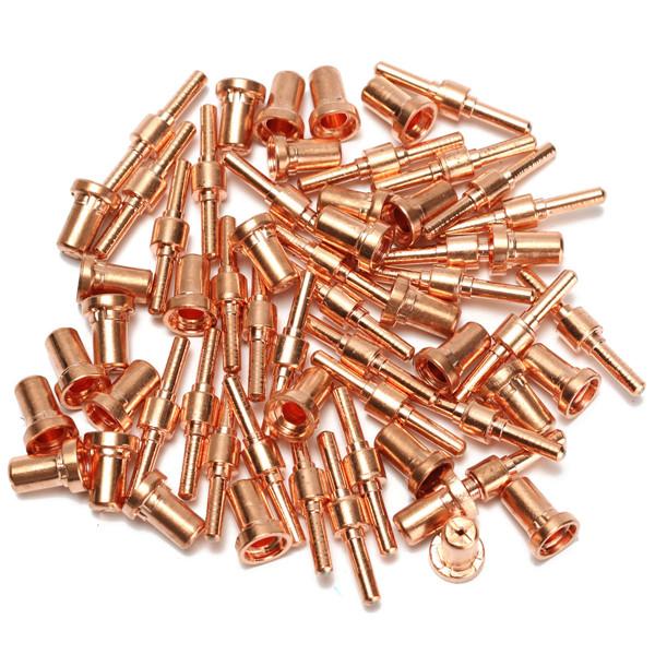 60pcs расходных материалов продлен длинные наконечник электроды и сопла для pt31 lg40 40A резак плазмы воздуха