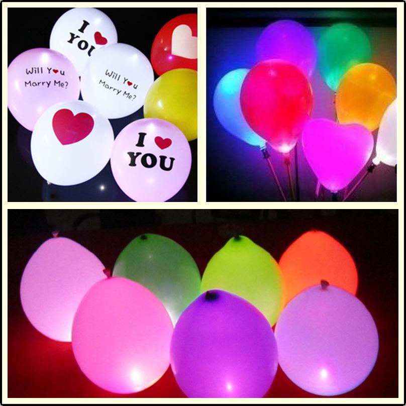 25pcs 1.7cm круглый LED шар свет лампы светящиеся шар света украшение дня рождения венчания