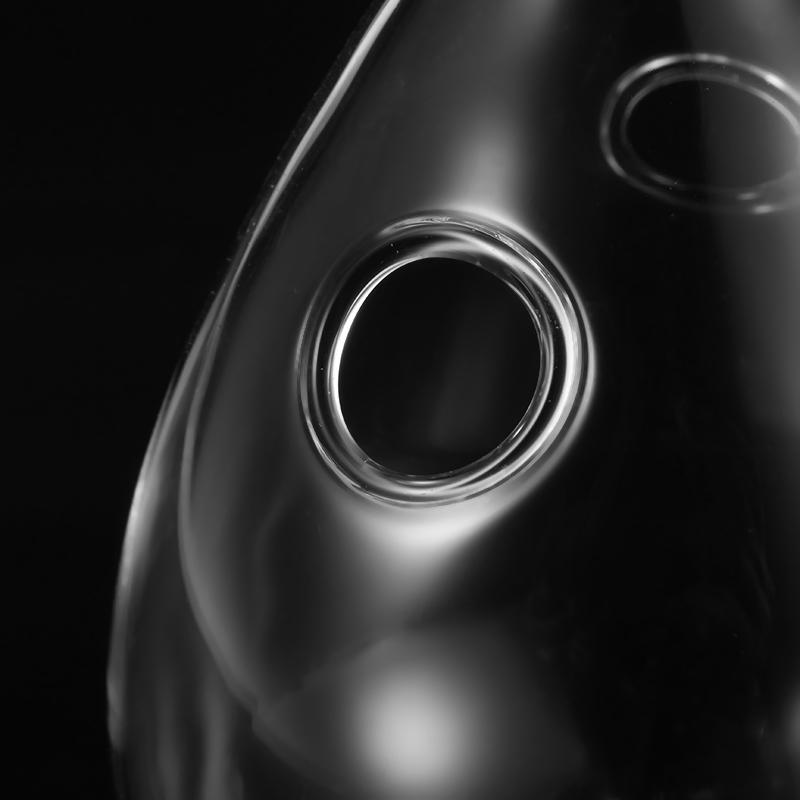 висячей капли воды стеклянная бутылка ваза