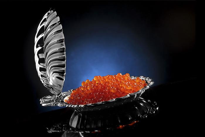 """Русский деликатес к новогоднему столу. 500 г. или 1 кг. красной икры горбуши или кеты со скидкой до 29% от компании """"Главрыба"""""""