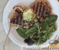 Фото к рецепту: Стейки с террагоновым соусом