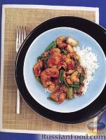 Фото к рецепту: Курица с орешками кешью и соусом Хойсин