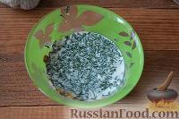 Фото приготовления рецепта: Скумбрия под чесночным соусом (в мультиварке) - шаг №4
