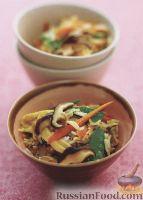 Фото к рецепту: Рис с грибами