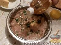 Фото приготовления рецепта: Куриные рулетики с грибами - шаг №10