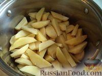 Фото приготовления рецепта: Жаркое из картошки с грибами - шаг №7