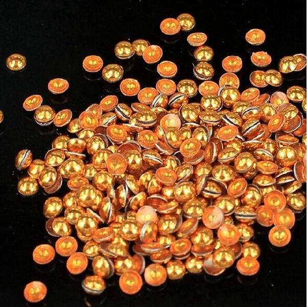 2 мм 6 цветов круглый сплав украшения искусства ногтя колеса