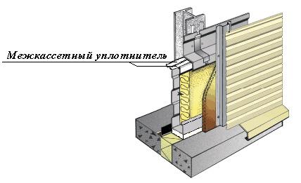 Межкассетный уплотнитель