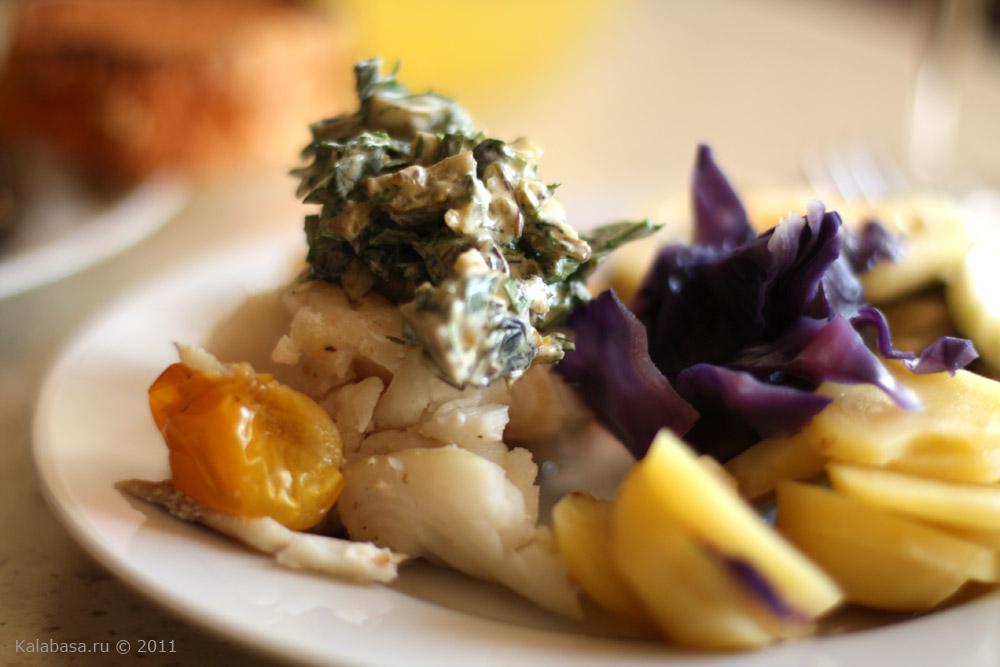 """Треска в соусе с овощами """" Рецепты с фото, пошаговые кулинарные рецепты. Рецепты салатов, десертов, первых и вторых блюд. Кулина"""