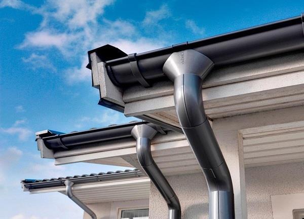 водосточная система крыши
