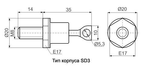 Корпус SD3
