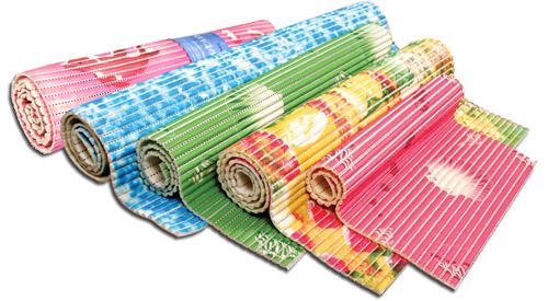 ПВХ-коврики для ванной различных расцветок (фото)