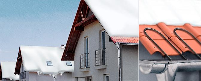 Кабельный обогрев водопроводов и крыш RGS-2CR