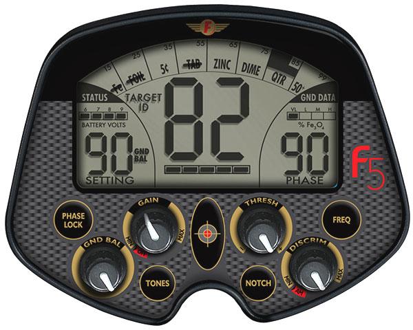 Fisher F5 - приборная панель управления