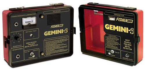 Блок управления Fisher Gemini 3