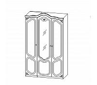Шкаф для одежды <br/> Белый полуглянец СП-002-13