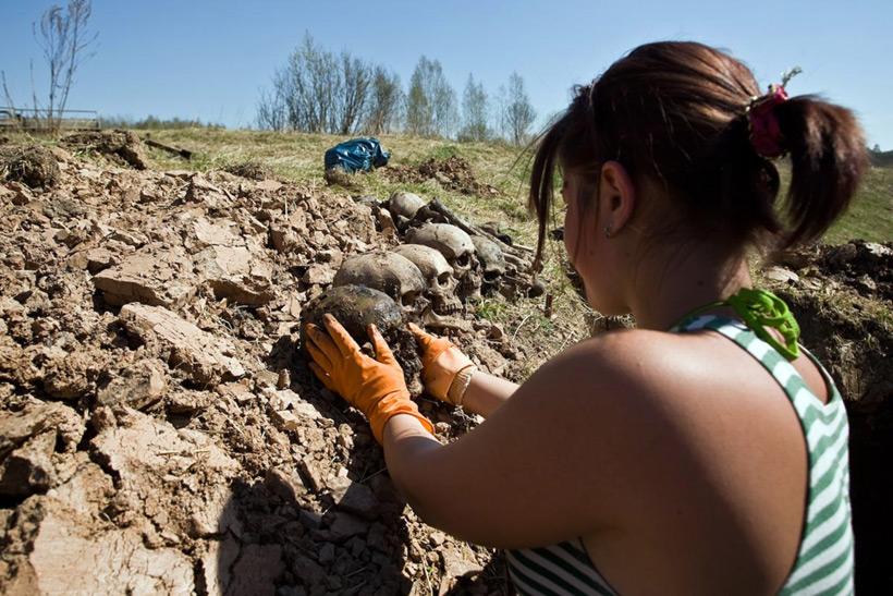 Долина смерти - Мясной бор в Новгородской области