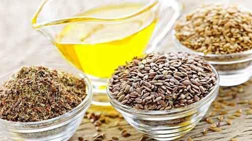 Льняное масло хорошо сочетается с соками и другими напитками