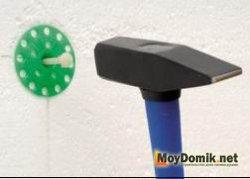 Дюбели зонтики (грибки) для крепления пенопласта