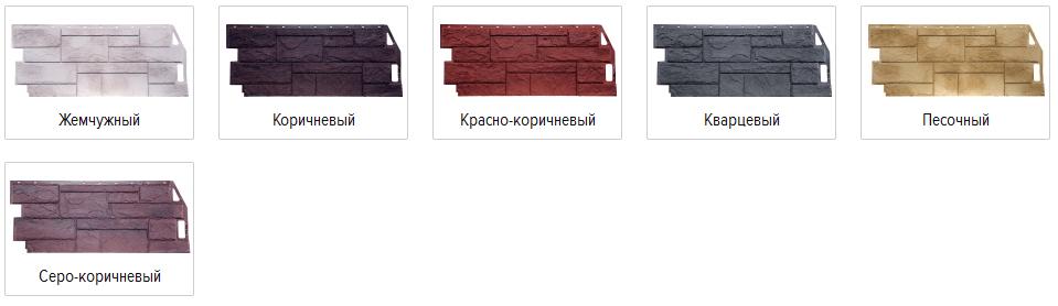 Фасадные панели FineBer серии «Камень природный»
