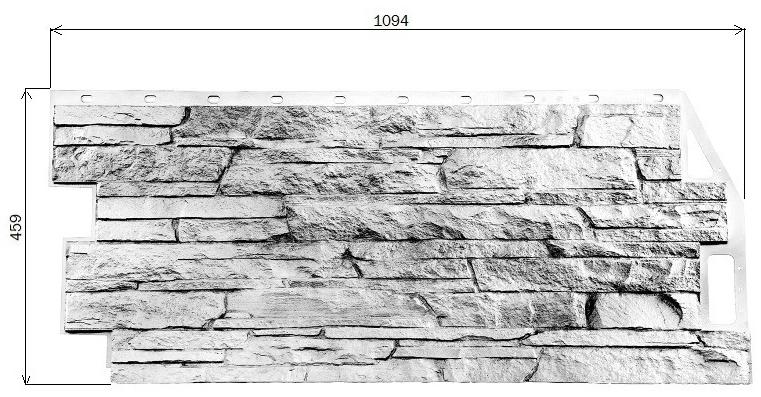 Фасадные панели FineBer серии «Скала»