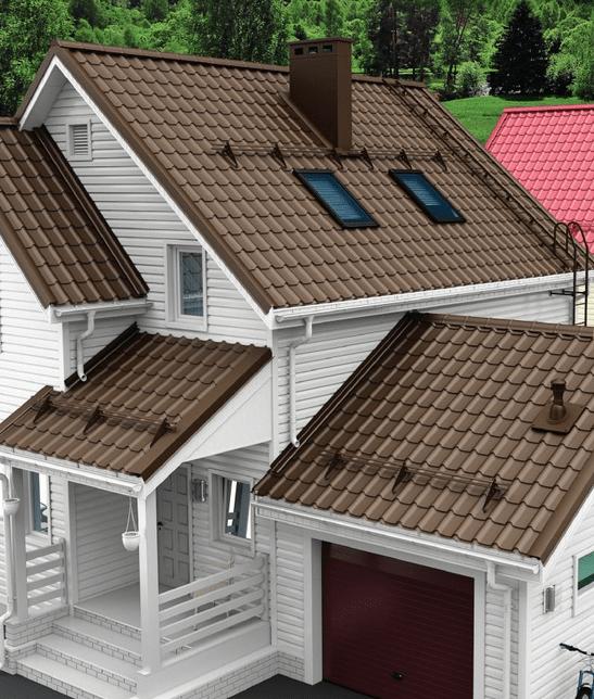 Кровля «Венеция» - универсальное решение для крыши