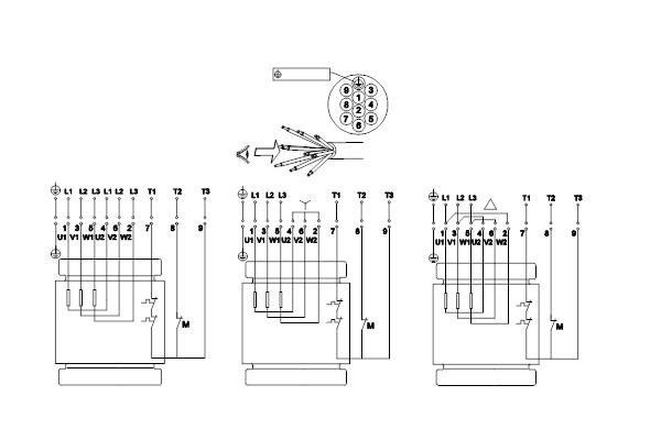Схема подключений насосов SL1.80.80.55.4.51D.C